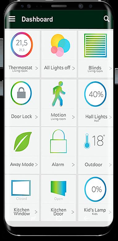 smart home mobile control